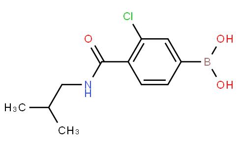 3-Chloro-4-(isobutylcarbamoyl)benzeneboronic acid