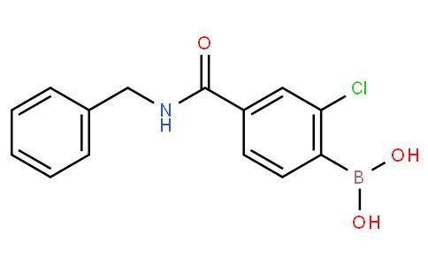 4-Benzylcarbamoyl-2-chlorobenzeneboronic acid