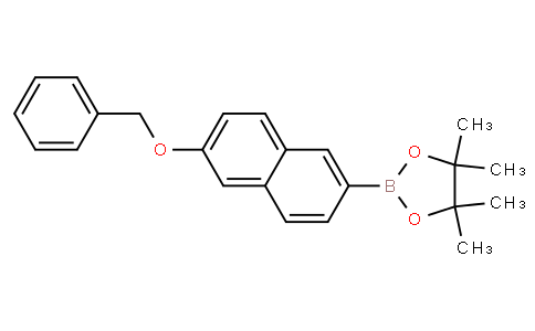 6-(Benzyloxy)-2-naphthylboronic acid pinacol ester