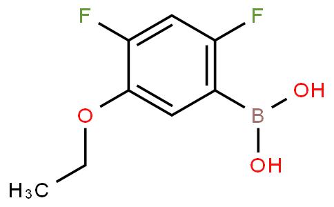 2,4-Difluoro-5-ethoxyphenylboronic acid