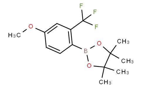 4-Methoxy-2-(trifluoromethyl)phenylboronic acid pinacol ester