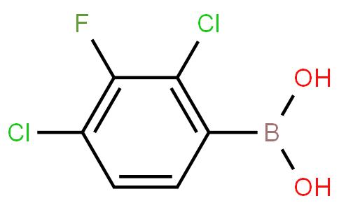 2,4-Dichloro-3-fluorophenylboronic acid