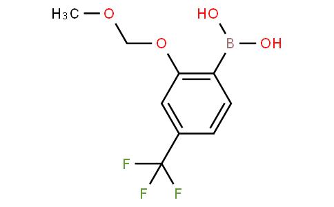 2-Methoxymethoxy-4-(trifluoromethyl)phenylboronic acid