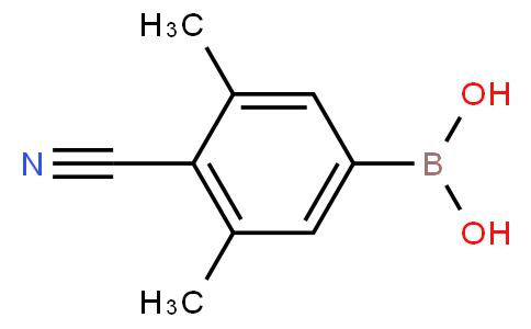 4-Cyano-3,5-dimethylphenylboronic acid