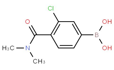 3-Chloro-4-(N,N-dimethylcarbamoyl)phenylboronic acid