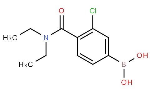 3-Chloro-4-(N,N-diethylcarbamoyl)phenylboronic acid
