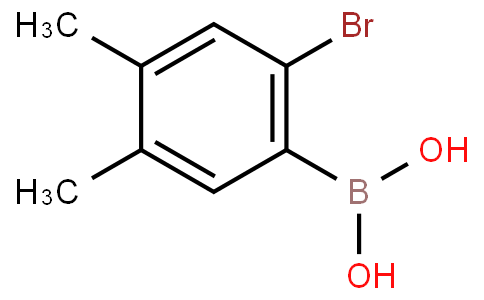 2-Bromo-4,5-dimethylphenylboronic acid