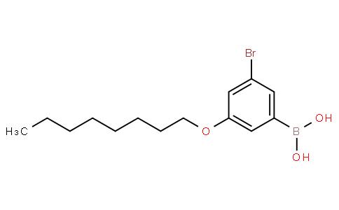 3-Bromo-5-octyloxyphenylboronic acid