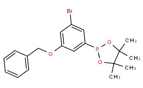 3-(Benzyloxy)-5-bromophenylboronic acid pinacol ester