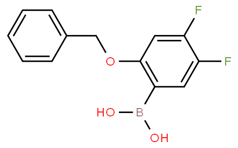 2-Benzyloxy-4,5-difluorophenylboronic acid