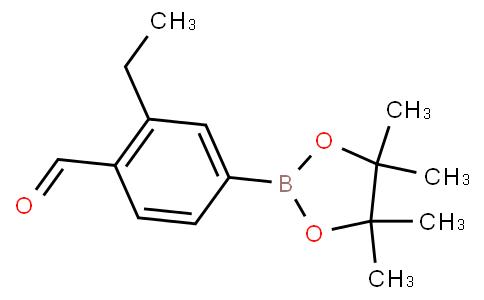 3-Ethyl-4-formylphenylboronic acid pinacol ester