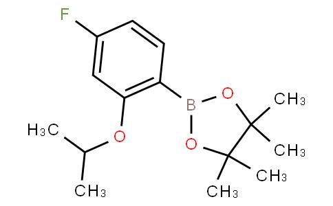 4-Fluoro-2-isopropoxyphenylboronic acid pinacol ester