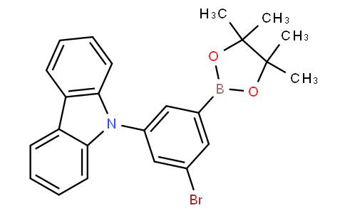 3-Bromo-5-(9H-carbazol-9-yl)-phenylboronic acid pinacol ester