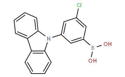 3-(9H-Carbazol-9-yl)-5-chlorophenylboronic acid