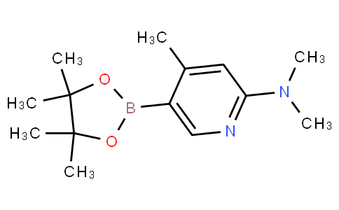 2-(Dimethylamino)-4-methylpyridine-5-boronic acid pinacol ester