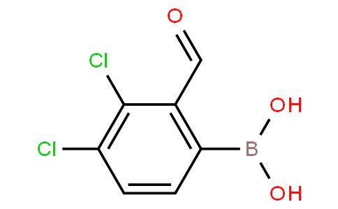 3,4-Dichloro-2-formylphenylboronic acid