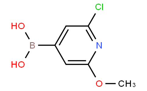 2-Chloro-6-methoxypyridine-4-boronic acid
