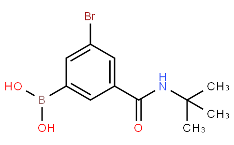 5-Bromo-3-(tert-butylaminocarbonyl)phenylboronic acid