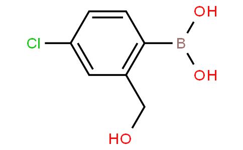 (4-Chloro-2-(hydroxymethyl)phenyl)boronic acid