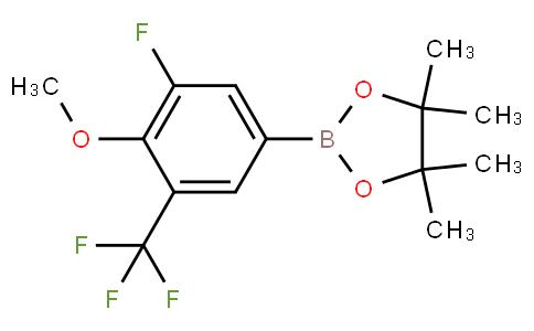 3-Fluoro-4-methoxy-5-trifluoromethylphenylboronic acid pinacol ester