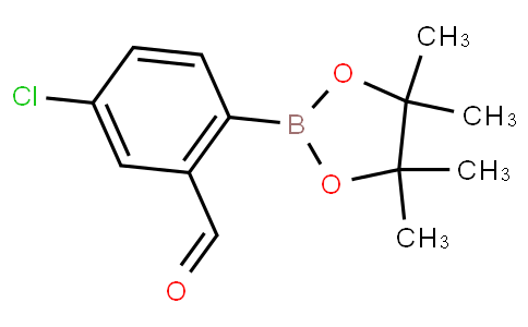 4-Chloro-2-formylphenylboronic acid pinacol ester