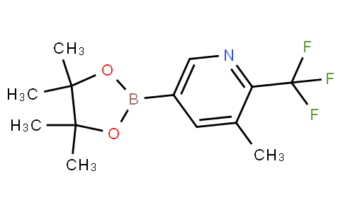 3-Methyl-2-trifluoromethylpyridine-5-boronic acid pinacol ester