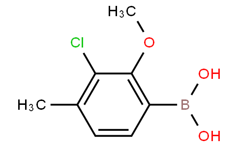 3-Chloro-2-methoxy-4-methylphenylboronic acid