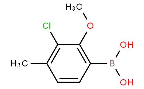 3-Chloro-2-methoxy-4-methylphenylboronic acid