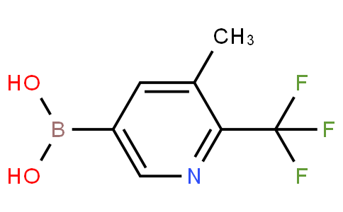 3-Methyl-2-trifluoromethylpyridine-5-boronic acid