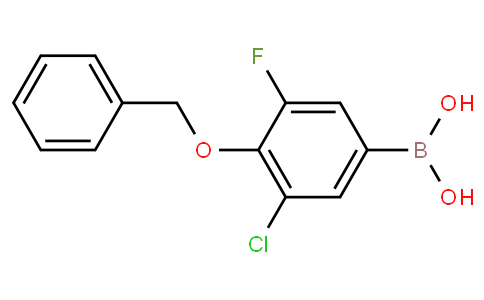 4-Benzyloxy-3-chloro-5-fluorobenzeneboronic acid