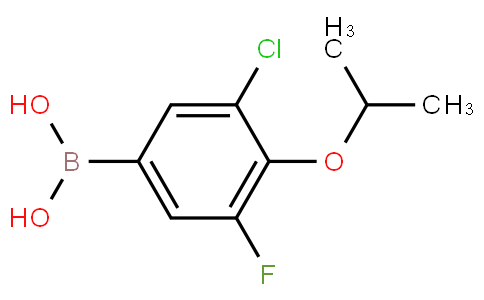 5-Chloro-3-fluoro-4-isopropoxyphenylboronic acid