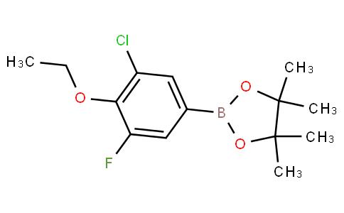 3-Chloro-4-ethoxy-5-fluorophenylboronic acid pinacol ester