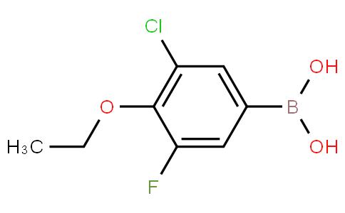 3-Chloro-4-ethoxy-5-fluorophenylboronic acid