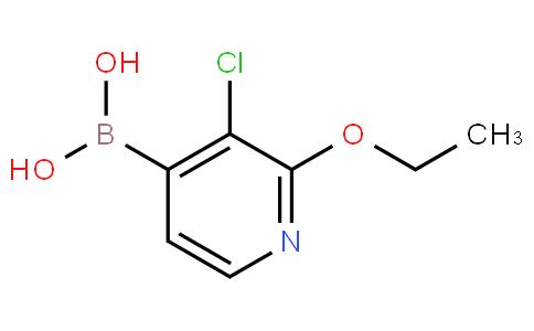 3-Chloro-2-ethoxypyridine-4-boronic acid