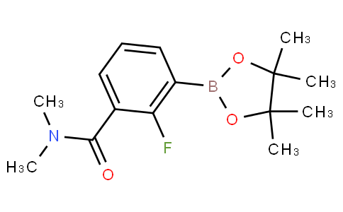 2-Fluoro-3-(N,N-dimethylaminocarbonyl)phenylboronic acid pinacol ester