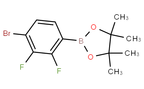 4-Bromo-2,3-difluorophenylboronic acid pinacol ester