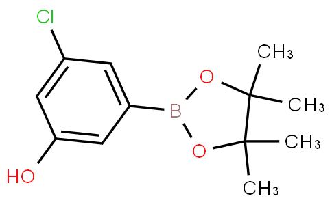 3-Chloro-5-hydroxyphenylboronic acid pinacol ester