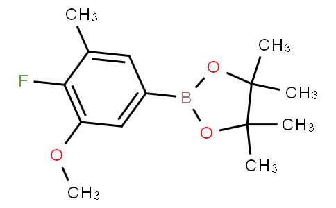 4-Fluoro-3-methoxy-5-methylphenylboronic acid pinacol ester