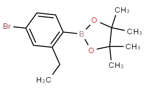 4-Bromo-2-ethylphenylboronic acid pinacol ester