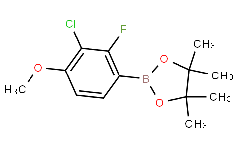 3-Chloro-2-fluoro-4-methoxyphenylboronic acid pinacol ester