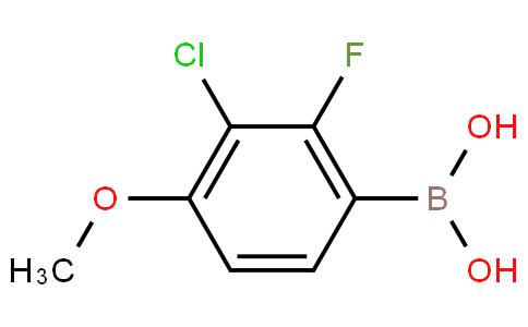 3-Chloro-2-fluoro-4-methoxyphenylboronic acid
