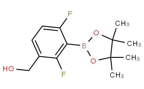 2,6-Difluoro-3-hydroxymethylphenylboronic acid pinacol ester