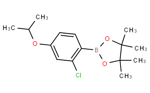 2-Chloro-4-isopropoxyphenylboronic acid pinacol ester