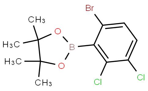 6-Bromo-2,3-dichlorophenylboronic acid pinacol ester