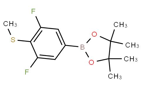 3,5-Difluoro-4-(methylthio)phenylboronic acid pinacol ester