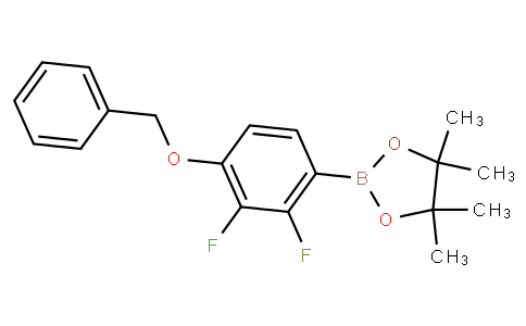 4-(Benzyloxy)-2,3-difluorophenylboronic acid pinacol ester