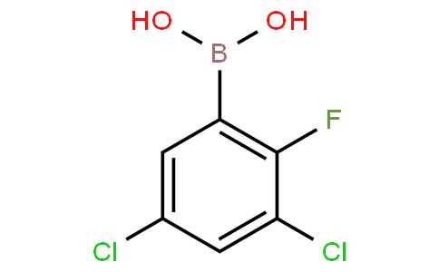 3,5-Dichloro-2-fluorophenylboronic acid