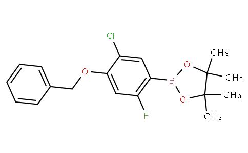4-Benzyloxy-5-chloro-2-fluorophenylboronic acid pinacol ester