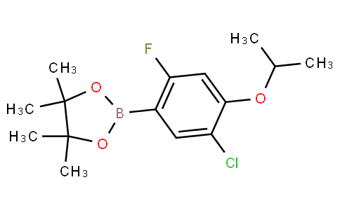5-Chloro-2-fluoro-4-isopropoxyphenylboronic acid pinacol ester