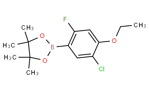 5-Chloro-4-ethoxy-2-fluorophenylboronic acid pinacol ester